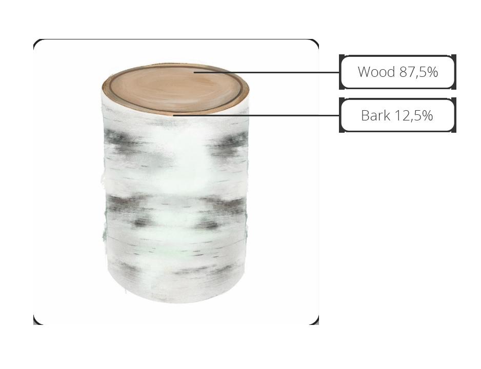 Birch veneer logs - Suberbinder