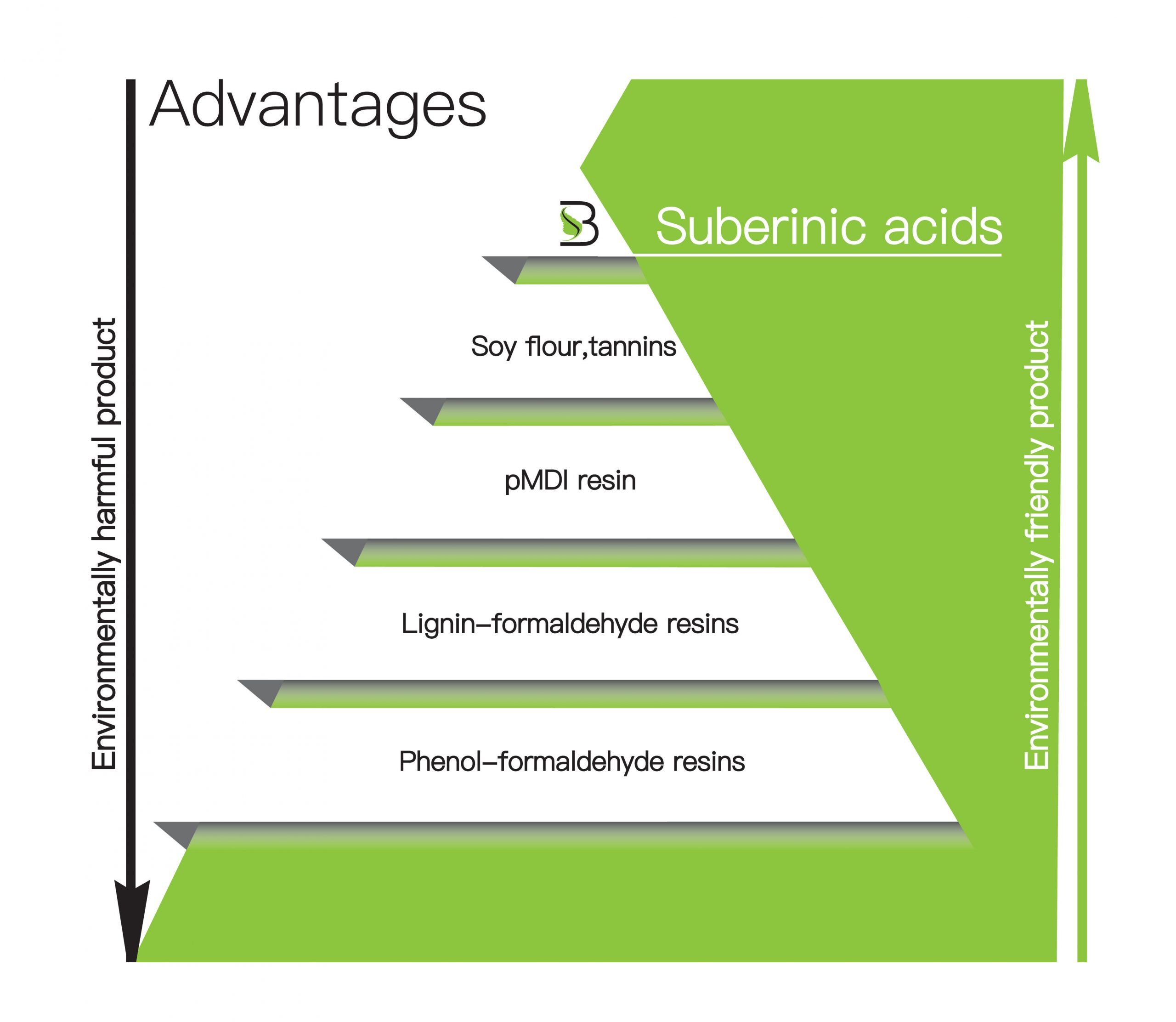 Advantages of Suberinic acids - Suberbinder